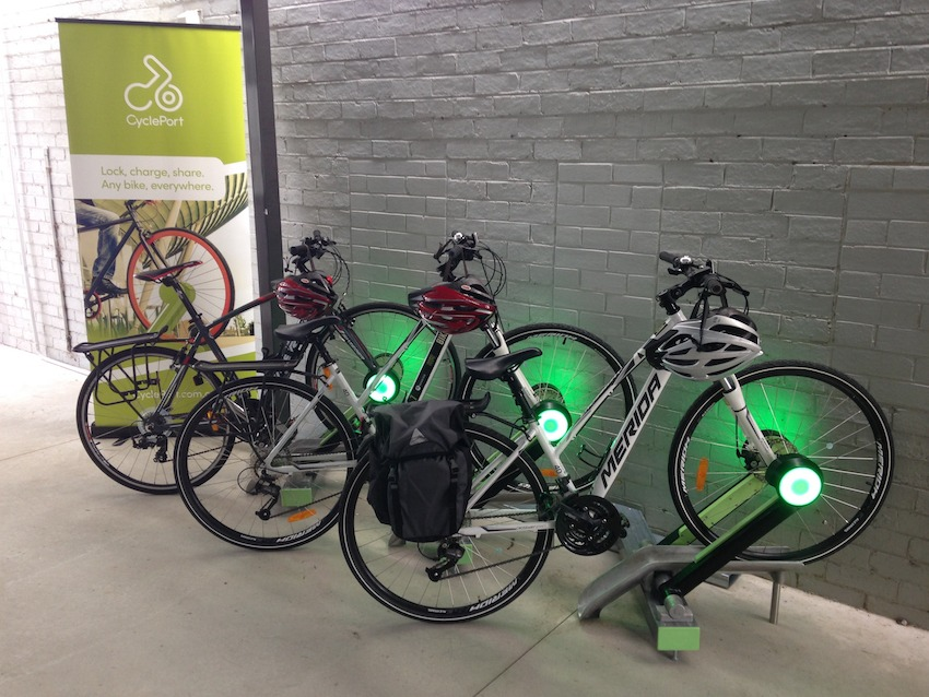 CyclePort can lock, charge and share any bike, everywhere